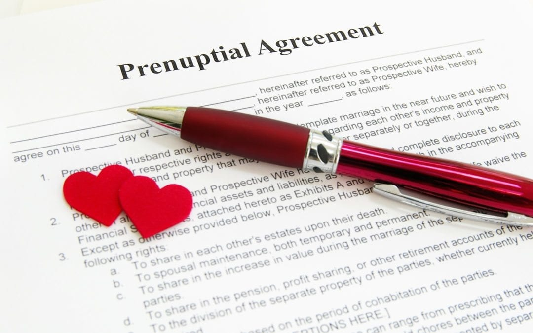 Prenuptial Agreements Offer Protection