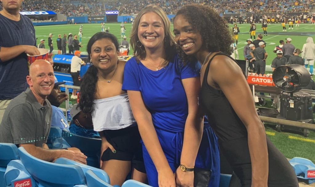 McIlveen lawyers at Panthers Game